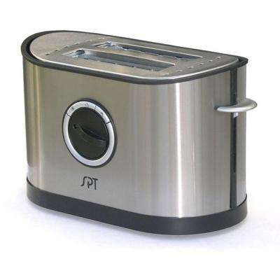 2-Slice Stainless Steel Toaster