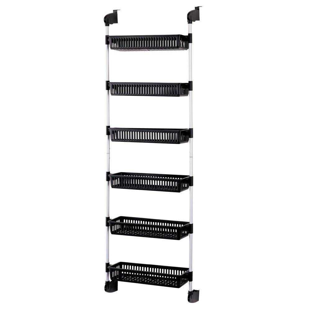 Neu home overdoor 6 basket storage unit
