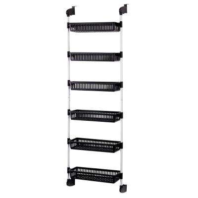 Overdoor 6-Basket Storage Unit