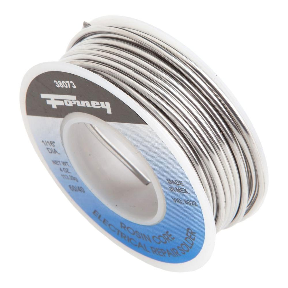 Forney 38072 Rosin Core 40//60 Solder 1//4-Pound 3//32-Inch