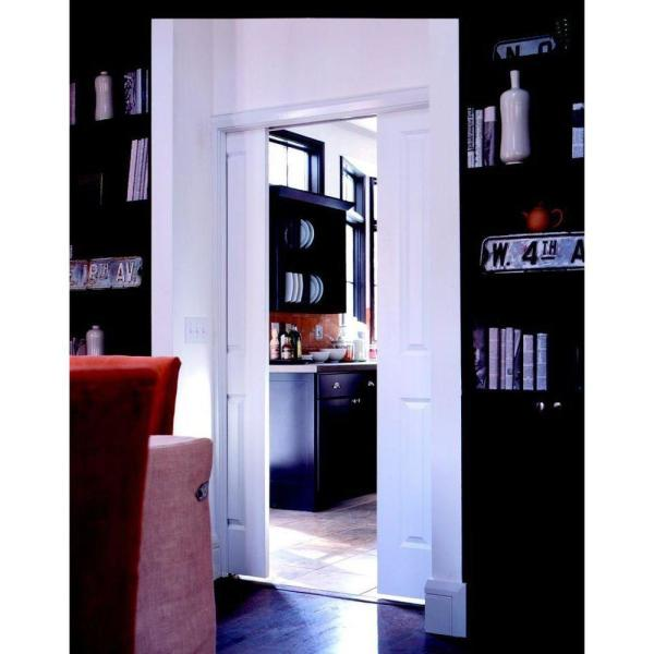 Johnson Hardware 1500 Series 36 In X 96 In Pocket Door Frame For 2x4 Stud Wall 153080hd The Home Depot