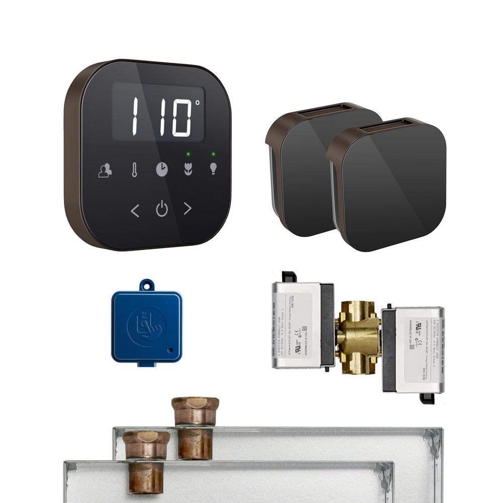 Mr Steam Airbutler 2 Package In Black Oil Rubbed Bronze
