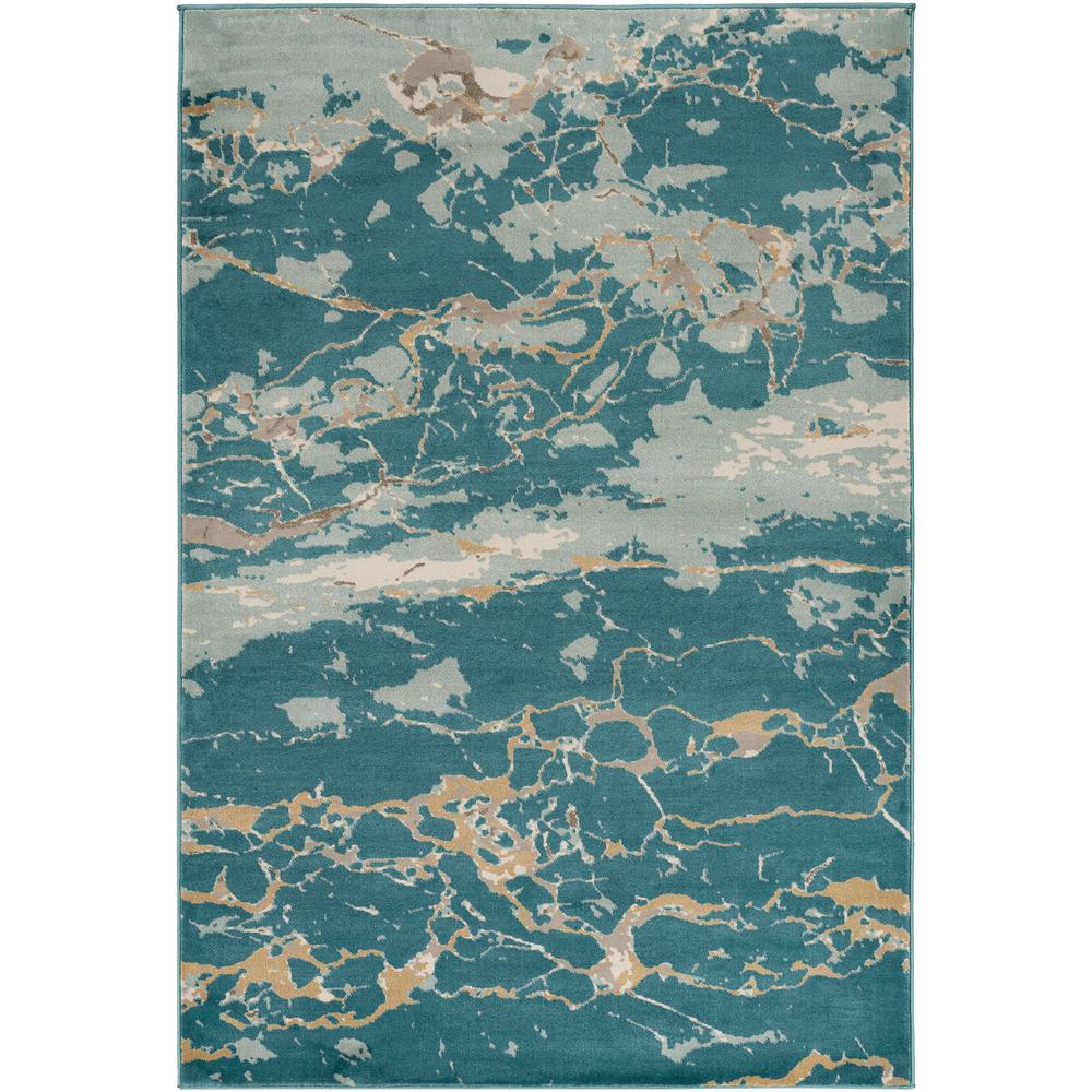 World Rug Gallery Florida Turquoise Area Rug Reviews: World Rug Gallery Contemporary Modern Circles Abstract