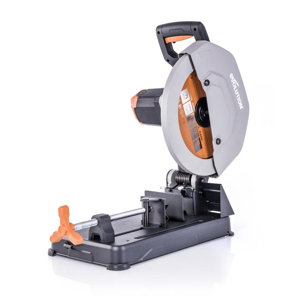 Evolution Power Tools 14 in. Multi-Material Chop Saw