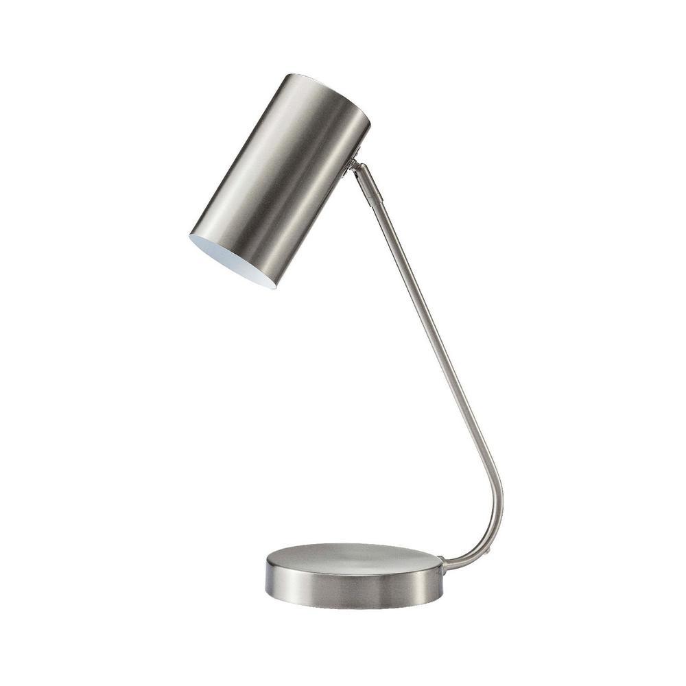 MODN 21 in. Gold Metal Indoor Table Lamp