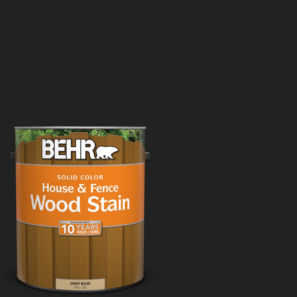 1 gal. #SC-102 Slate Solid Color House and Fence Wood Stain