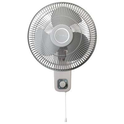 12 in. Oscillating Wall-Mount Fan