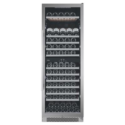 141-Bottle Built-in Wine Cooler with Argon Filled Double Paned Glass