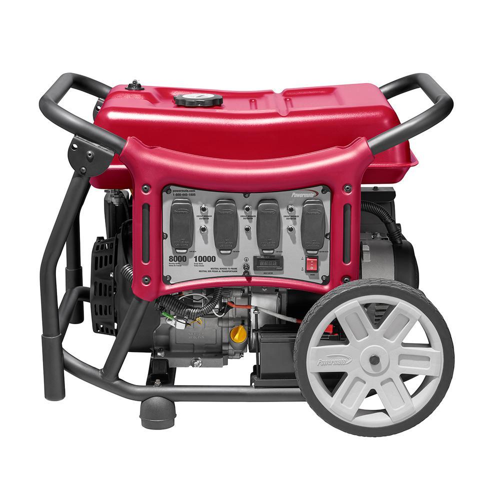 CX Series 8,000-Watt Gasoline Powered Electric-Start Portable Generator