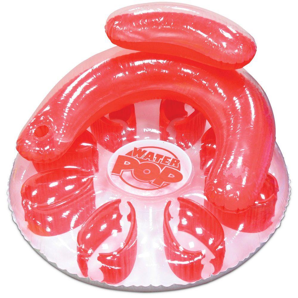 Red Water Pop Circular Pool Float
