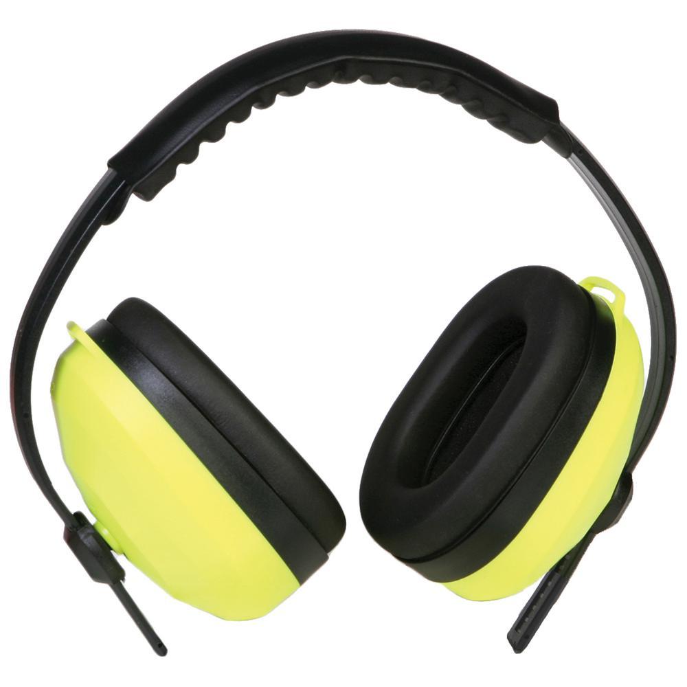 105 Deluxe Earmuff NRR 26dB, Hi Viz Lime