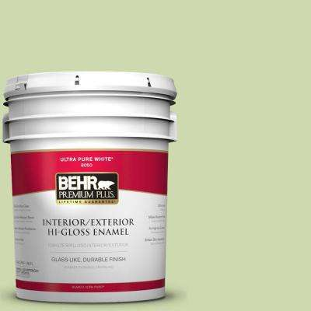 5-gal. #P370-3 Chameleon Skin Hi-Gloss Enamel Interior/Exterior Paint