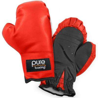 Youth Kids Boxing Gloves in Red