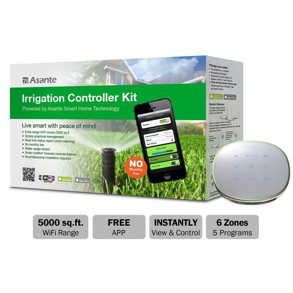Asante Wireless Cloud Based Irrigation Controller Kit