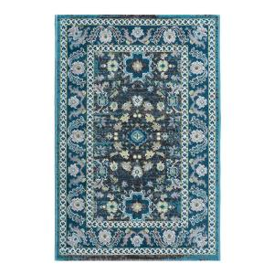 Tayse Rugs Milan Aqua 2 ft. x 3 ft. Accent Rug by Tayse Rugs