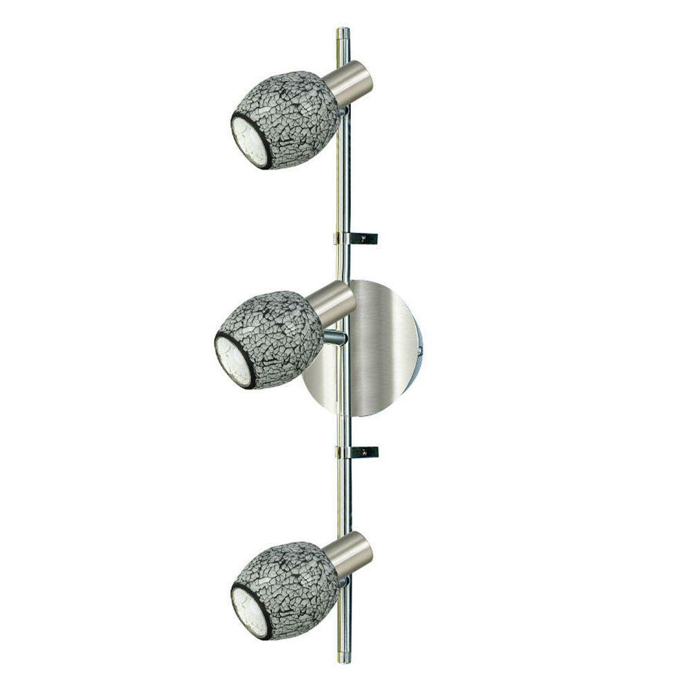 Eglo Inka 3-Light Matte Nickel Track Lighting Fixture-DISCONTINUED