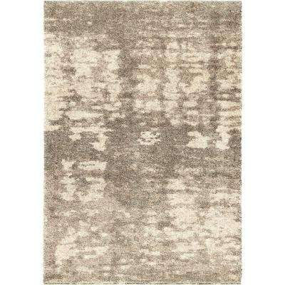 Brume Clouds Gray 5 ft. x 8 ft. Indoor Area Rug