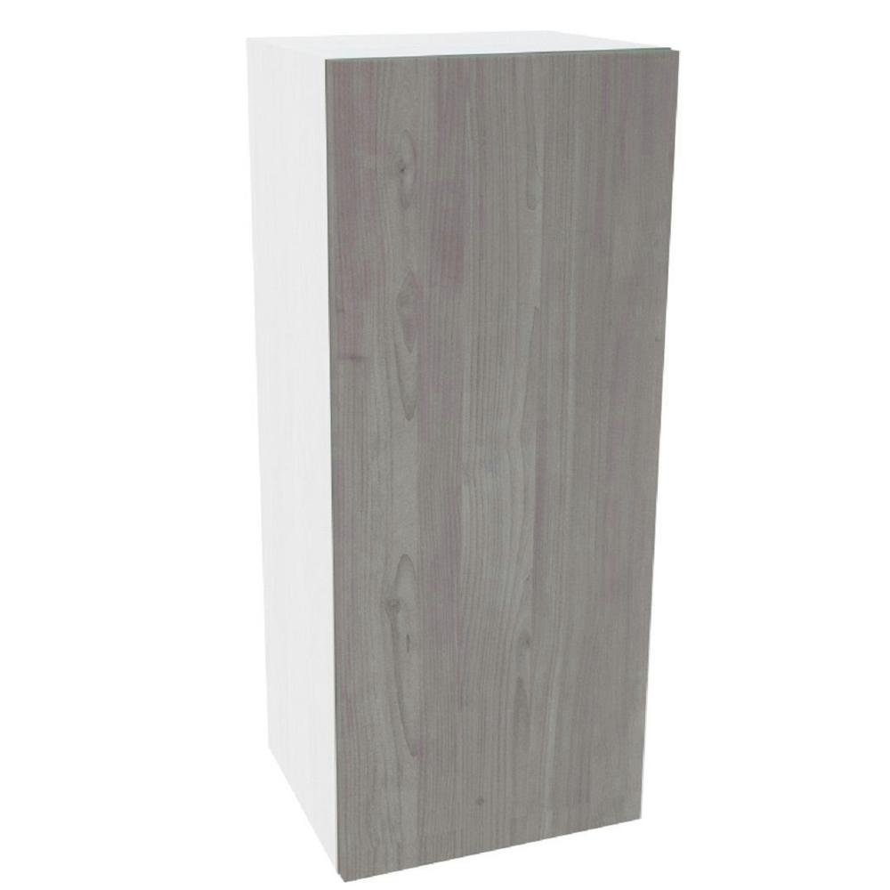 Cambridge Ready to Assemble 9 in. x 36 in. x 12 in. Wall Cabinet in Grey Nordic Wood -  SA-WU936-GN
