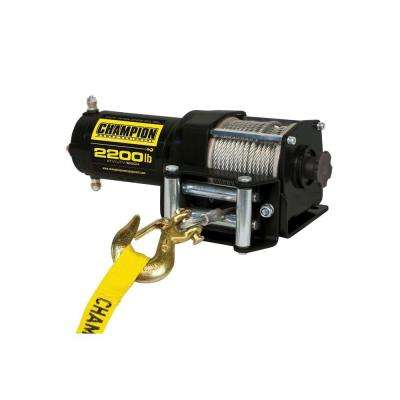 2,200 lb. 12-Volt ATV/UTV Winch Kit