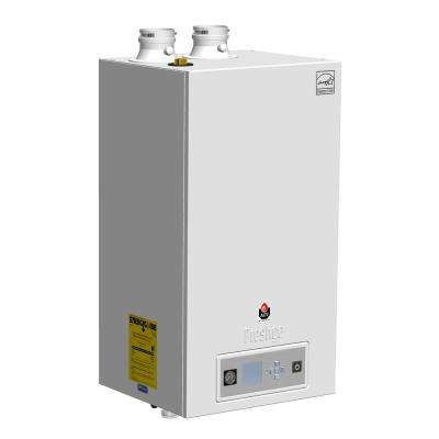 Prestige Solo 155 95% AFUE Condensating Gas Boiler with 120000-138000 BTU and 153000 Input Modulating