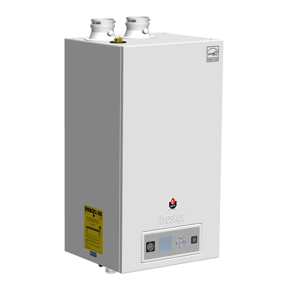 TRIANGLE TUBE Prestige Solo 80 95% AFUE Condensating Gas Boiler with ...