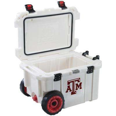 45 Qt. Texas A&M University Aggies Elite Wheeled Cooler