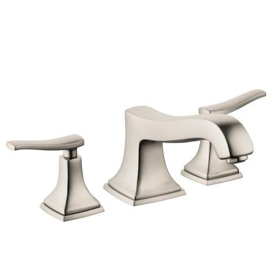Metropol Classic 2-Handle Deck Mount Roman Tub Faucet in Brushed Nickel