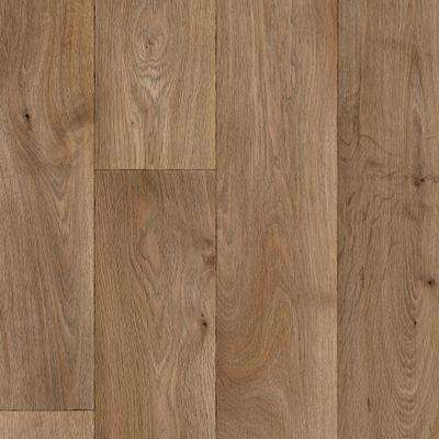 Sandy Oak Plank 13.2 ft. Wide x Your Choice Length Residential and/or Commercial Vinyl Sheet Flooring