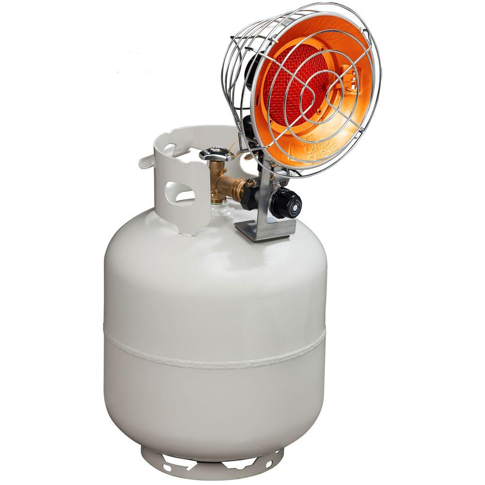 Propane Radiant Heater >> Procom 15 000 Btu Portable Single Tank Top Heater