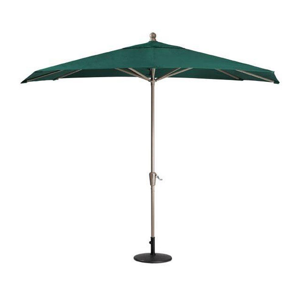 Home Decorators Collection Sunbrella 10 ft. Patio Umbrella in Forest Green