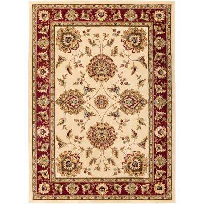 Timeless Abbasi Ivory 10 ft. 11 in. x 15 ft. Traditional Area Rug