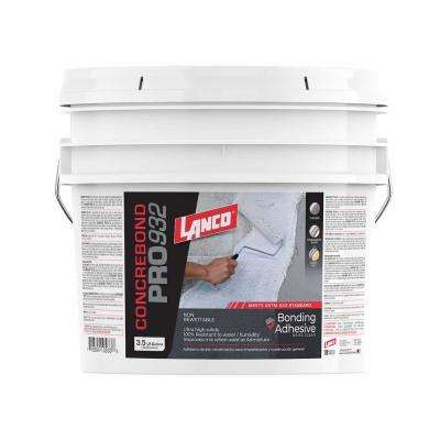 3.5 Gal. Concrebond Pro 932 White Non-Rewettable High Solids Bonding Adhesive and Additive