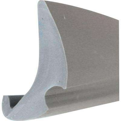 0.19 in. x 200 ft. Gray Vinyl Glass Glazing Spline