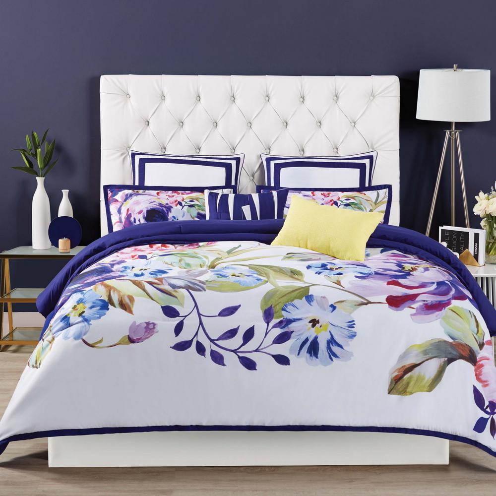 Garden Bloom 3-Piece Multiple King Comforter Set