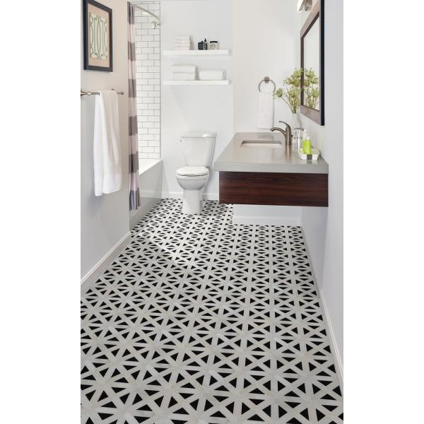 Msi Retro Fretwork 12 In X 12 In X 10 Mm Polished Marble Mesh Mounted Mosaic Tile 1 Sq Ft Retfret Pol10mm The Home Depot