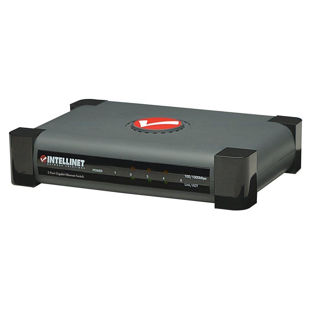 Intellinet 5-Port Gigabit Ethernet Switch-DISCONTINUED