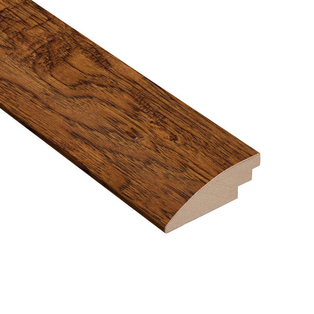 Distressed Palmero Hickory 1/2 in. Thick x 2 in. Wide x