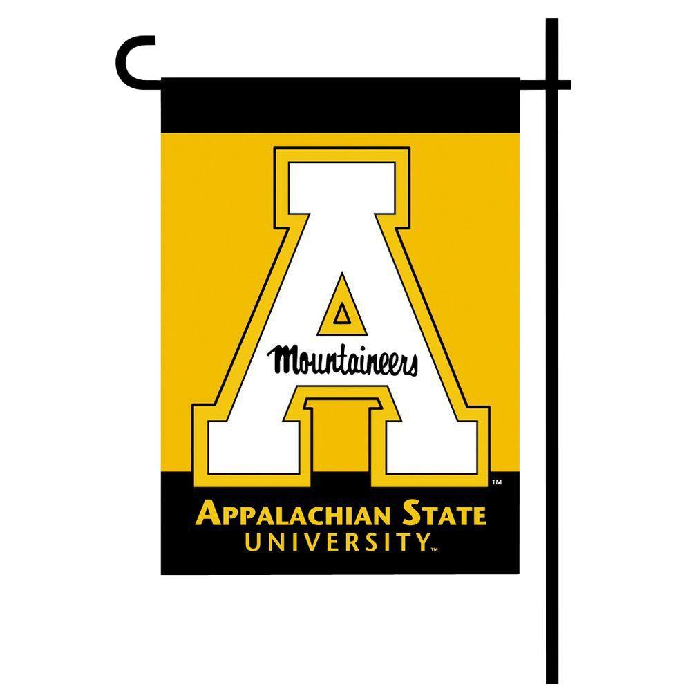 NCAA 13 in. x 18 in. Appalachian State 2-Sided Garden Flag