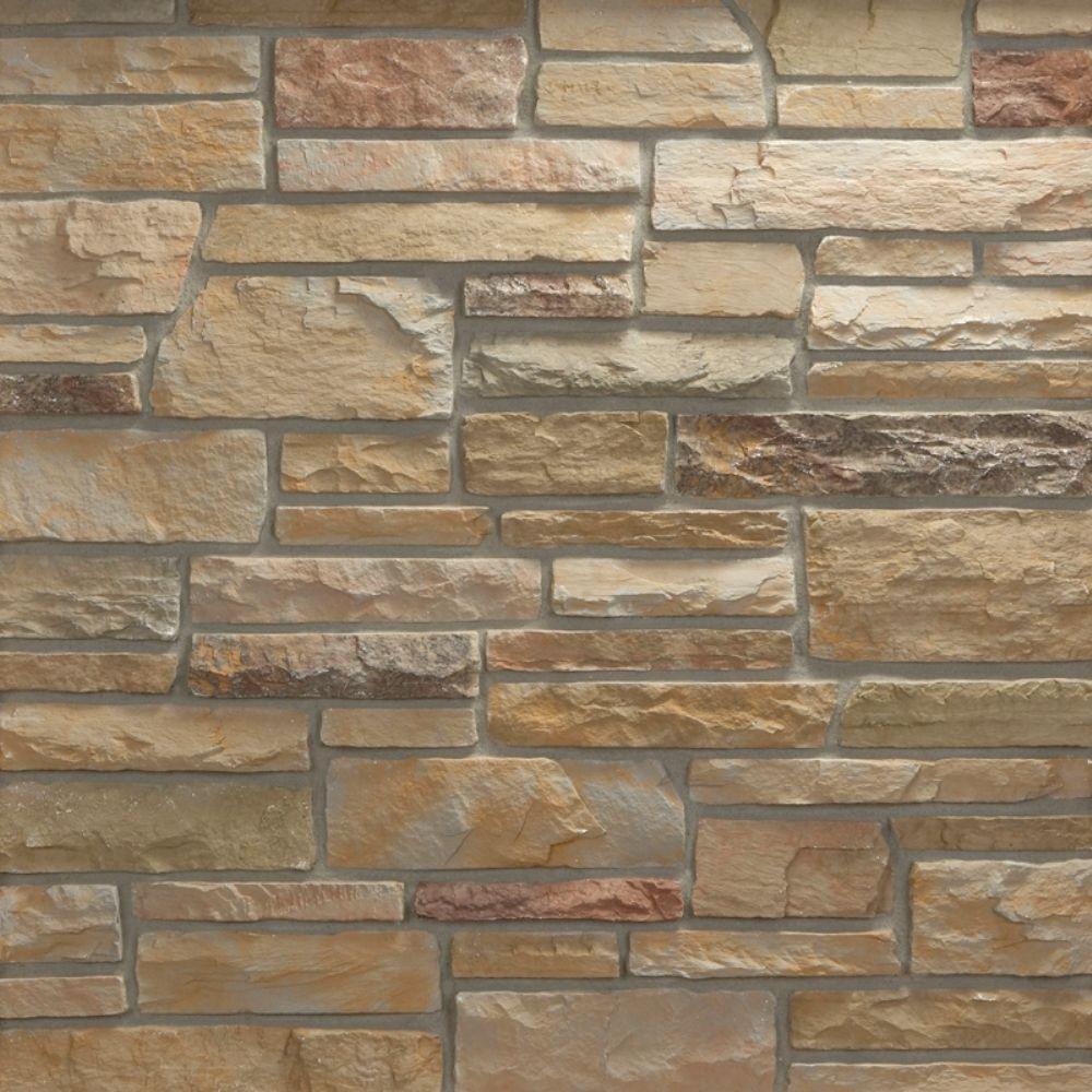 Pacific Ledge Stone Mendocino Corners 100 lin. ft. Bulk Pallet Manufactured Stone