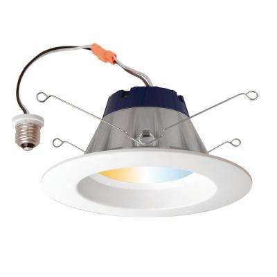 65-Watt Recessed Downlight Adjustable White LED Kit