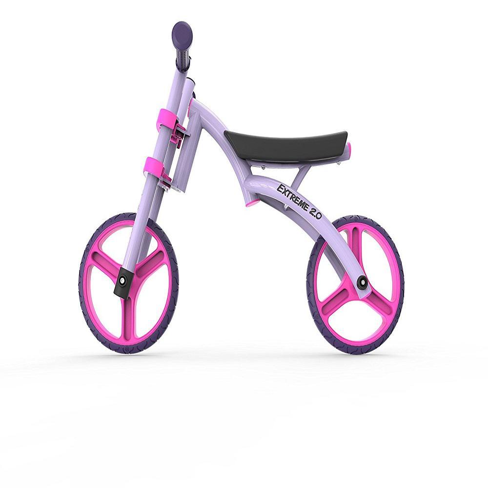 YBike Extreme 2.0 Balance Bike Purple, Purples/Lavenders