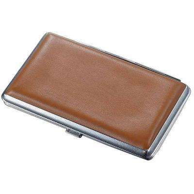 Lawrence Brown Leatherette 100's Cigarette Case