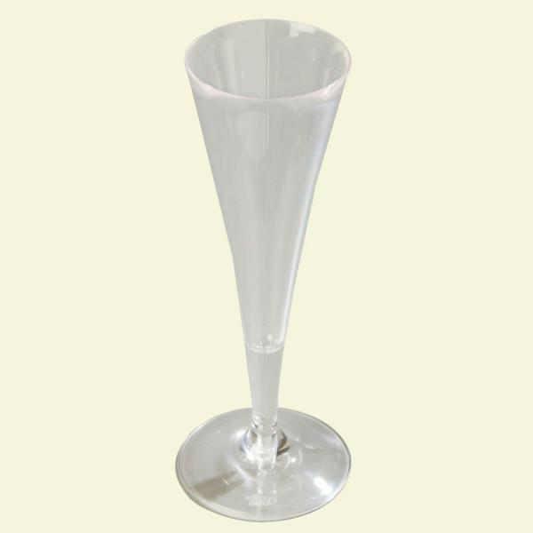 6 oz. Polycarbonate Champagne Flute in Clear (Case of 24)