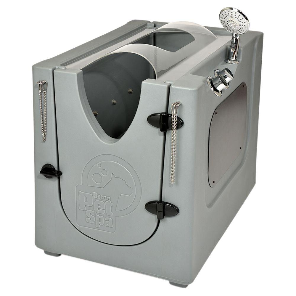 Home Pet Spa 35 in. x 24.7 in. Pet Shower and Grooming ...