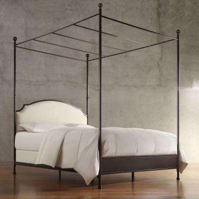 Bridgewater Antique Bronze King Canopy Bed