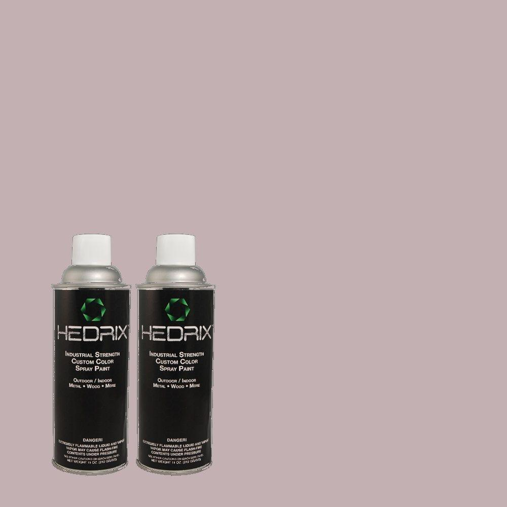 Hedrix 11 oz. Match of MQ5-36 Audition Semi-Gloss Custom Spray Paint (2-Pack)