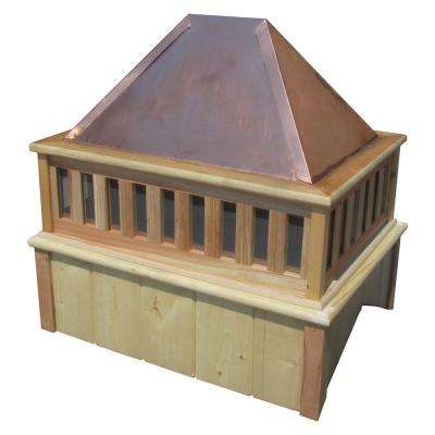 27 in. French Cupola with Copper Roof