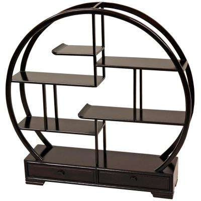Rosewood 19 in. H Decorative Display Stand