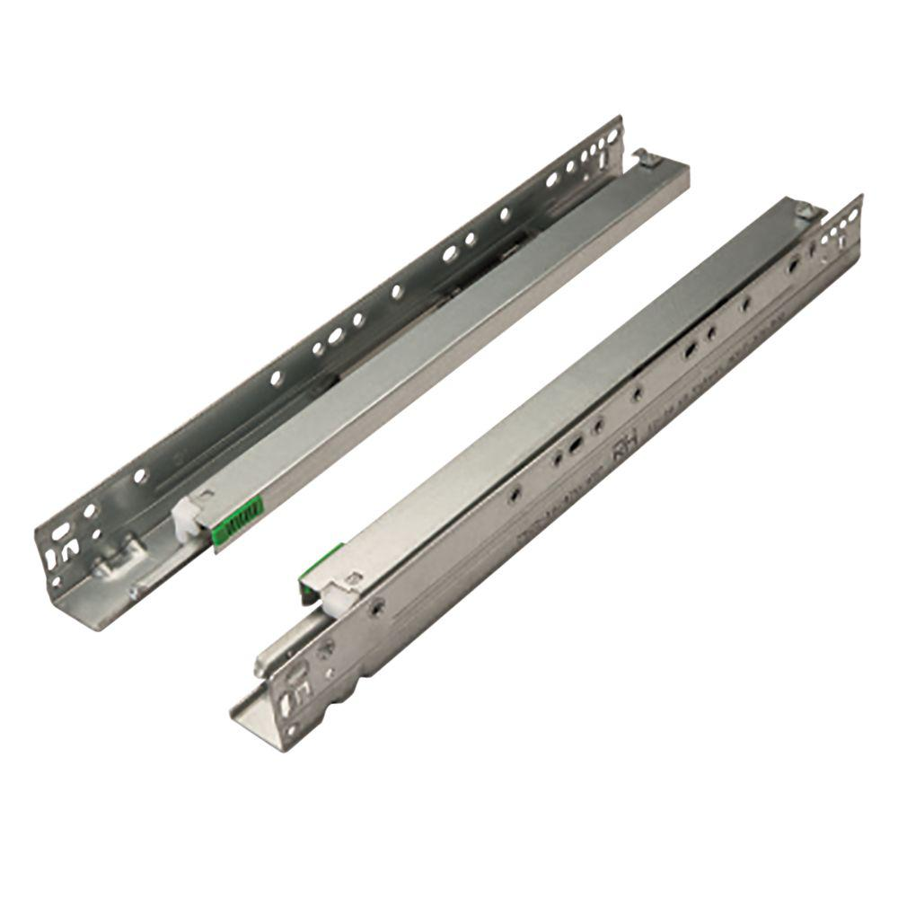 Full Extension Ball Bearing Under Mount Drawer Slide (1 Pair)