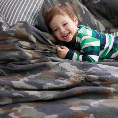 Camouflage Jersey Knit Comforter